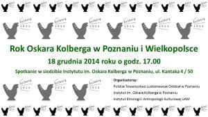 PTL IOK 17 grudnia 2014 - plakat